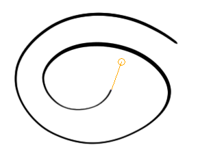 Guide Line and Circle