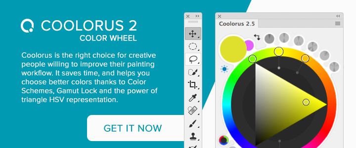 Coolorus Photoshop Color Wheel