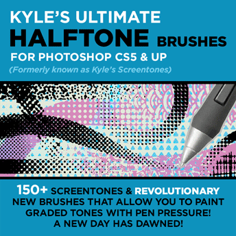 Kyle's Halftone Brushes