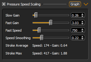 Lazy Nezumi Pro Pressure Speed Scaling UI